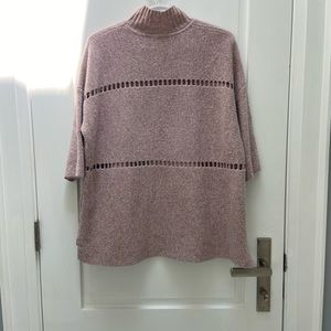 French connection over size sweater poncho size xs